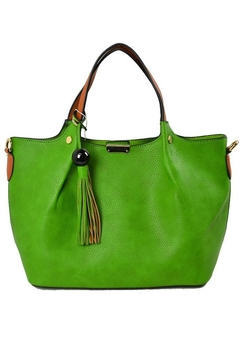 Shoptiques Product: Faux Leather Handbag