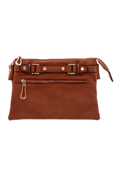 Shoptiques Product: Brown Belt Crossbody