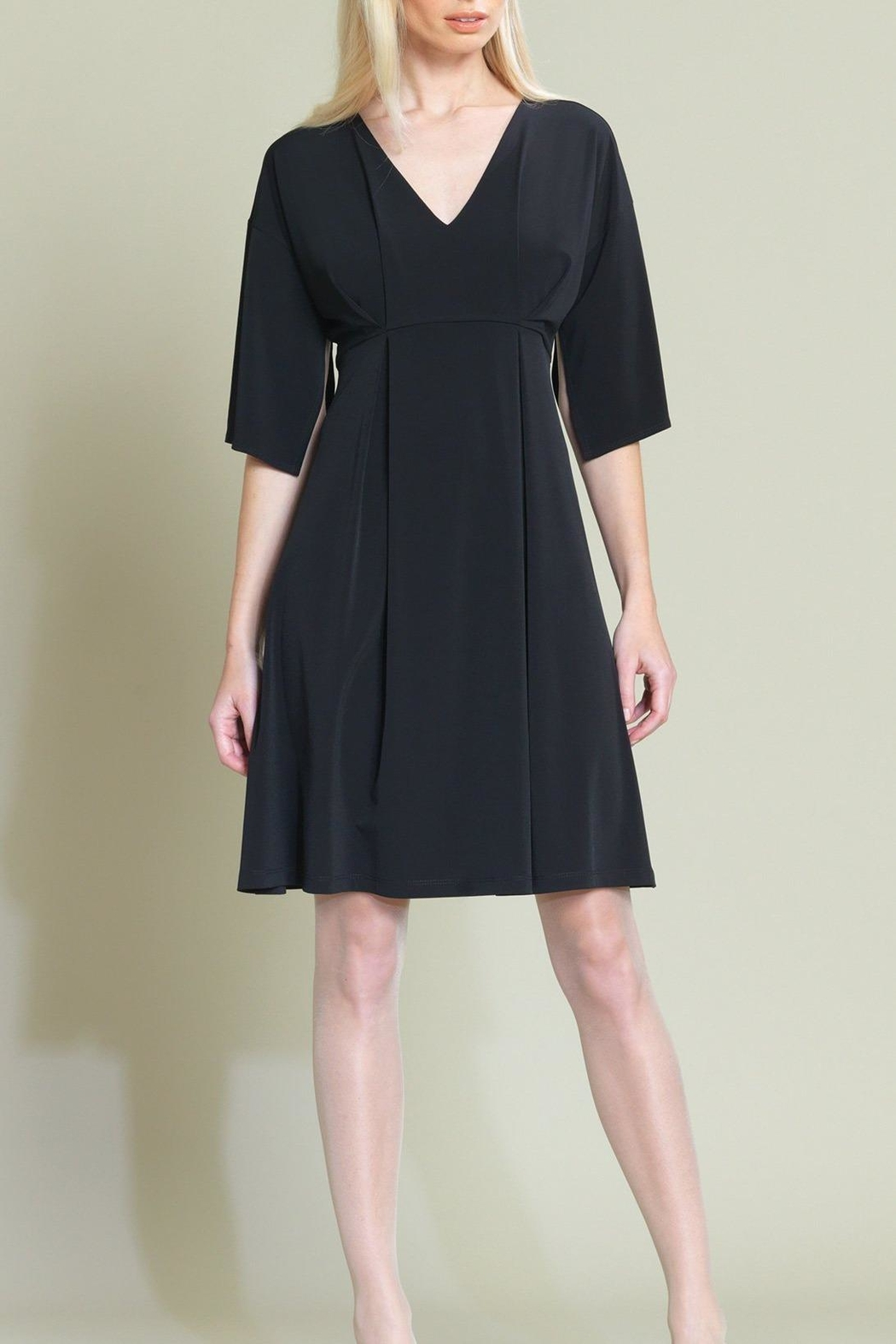 Clara Sunwoo Empire Pinched Dress - Front Cropped Image
