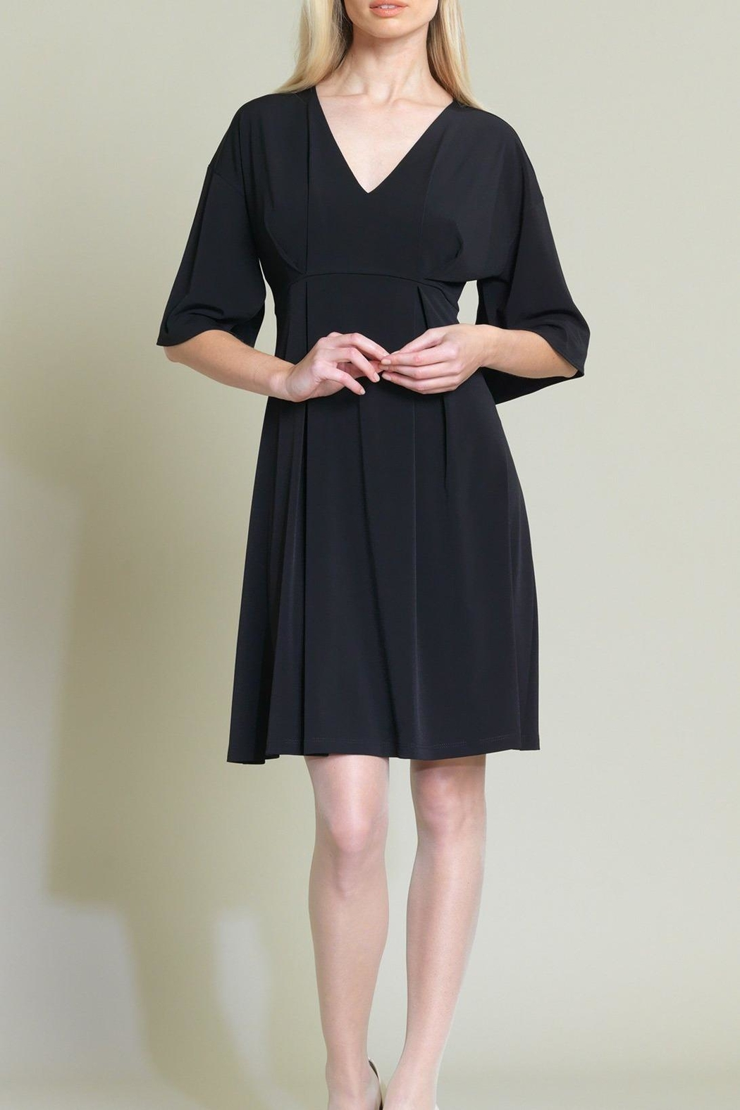 Clara Sunwoo Empire Pinched Dress - Side Cropped Image