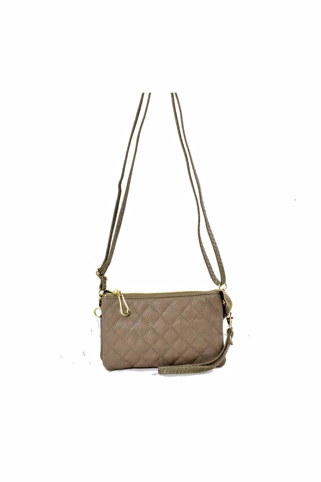 Empire Quilted Crossbody - Main Image
