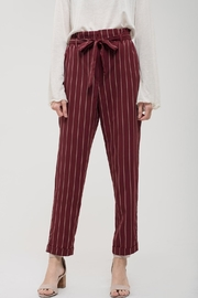 Blu Pepper Empire-State Striped Pants - Product Mini Image