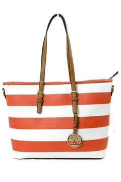 Shoptiques Product: Striped Handbag