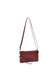 Empire Three Zip Wristlet - Front cropped