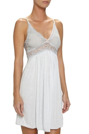 Eberjey Empire Waist Chemise - Front cropped