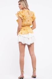 Mine Empire Waist Floral Top - Other
