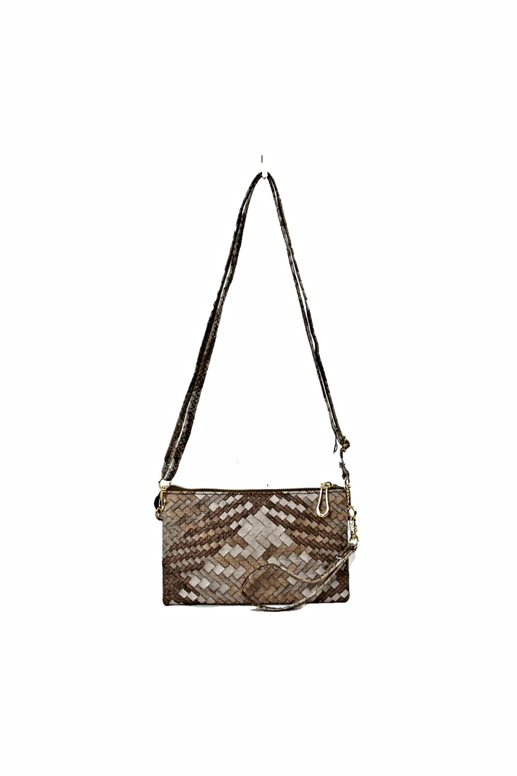 e181a79940f5 Empire Woven Wristlet from New York by Let s Bag It — Shoptiques