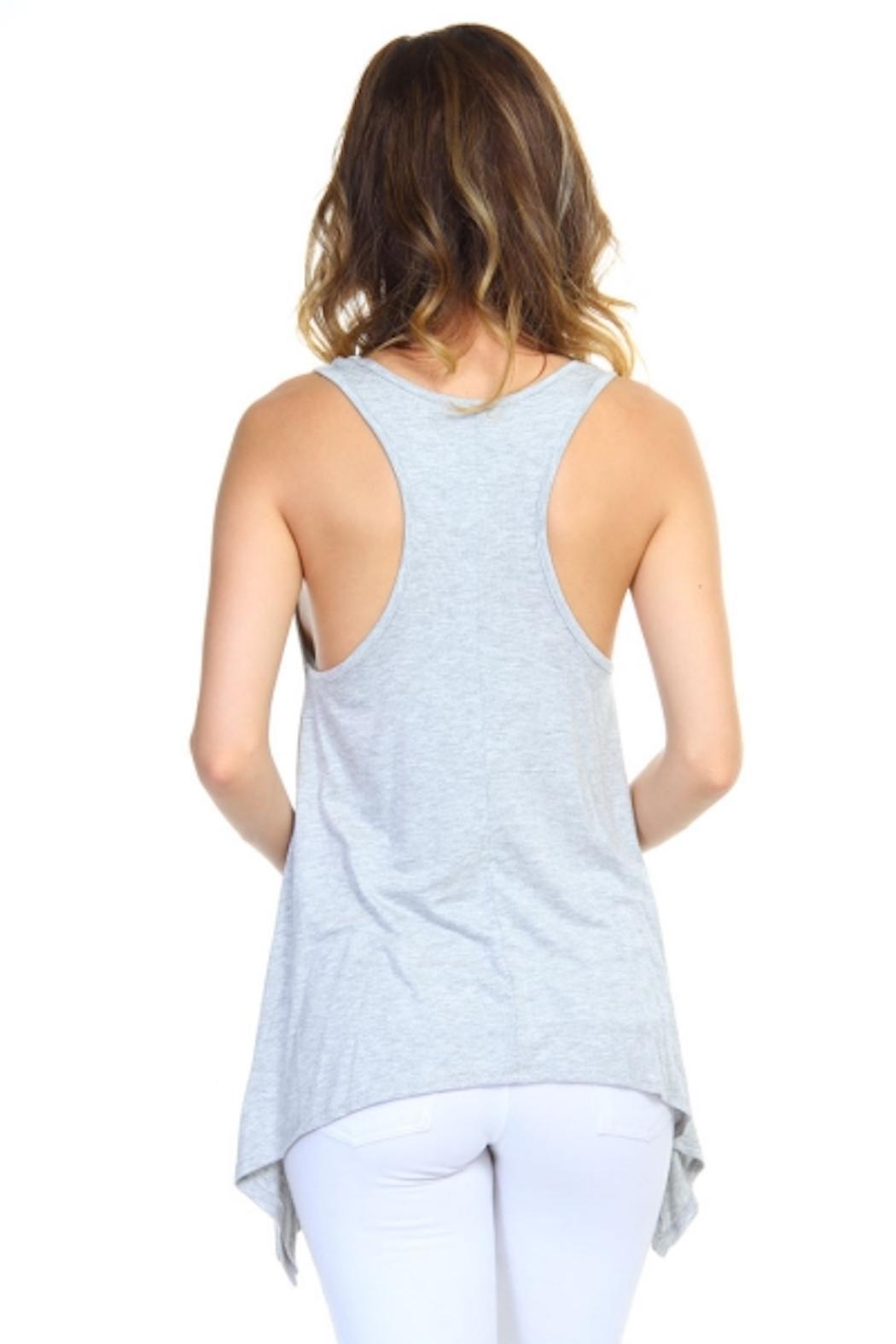 empire styles Arrow Graphic Top - Back Cropped Image