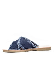Dirty Laundry Empowered Denim Sandal - Product Mini Image