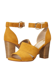 Seychelles Empowering Suede Heel - Front cropped