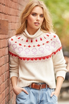525 America Empowerment Pullover Mock Turtleneck Sweater - Product List Image