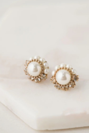 Lovers Tempo  Empress Pearl Post Earrings - Product Mini Image