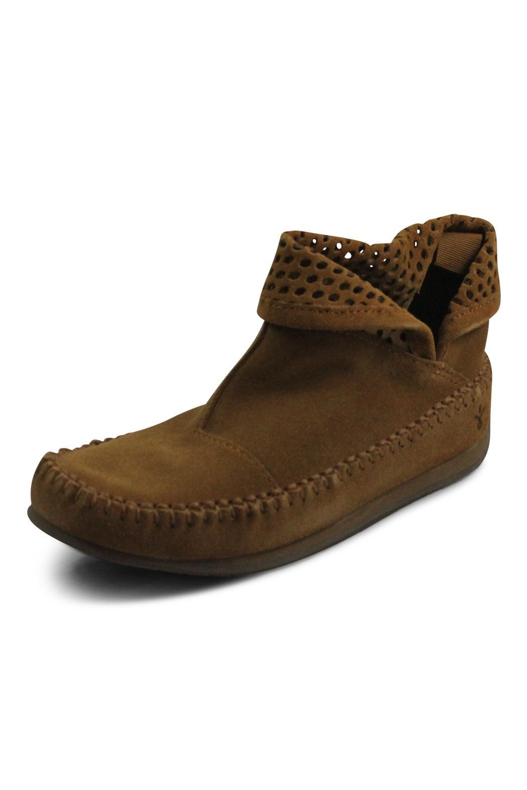 Emu Australia Brown Short Bootie - Front Full Image