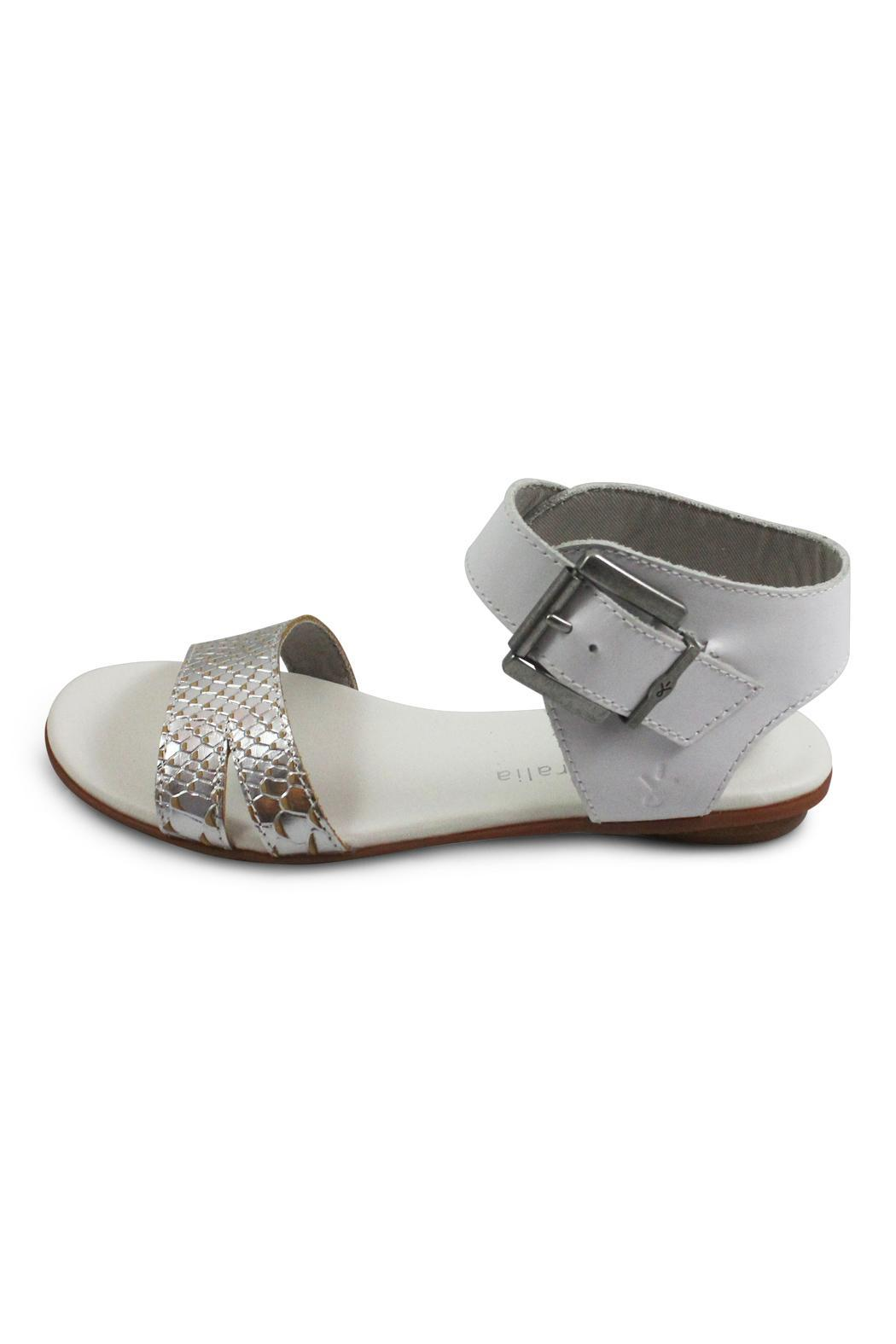 Emu Australia White Ankle Strap - Front Cropped Image