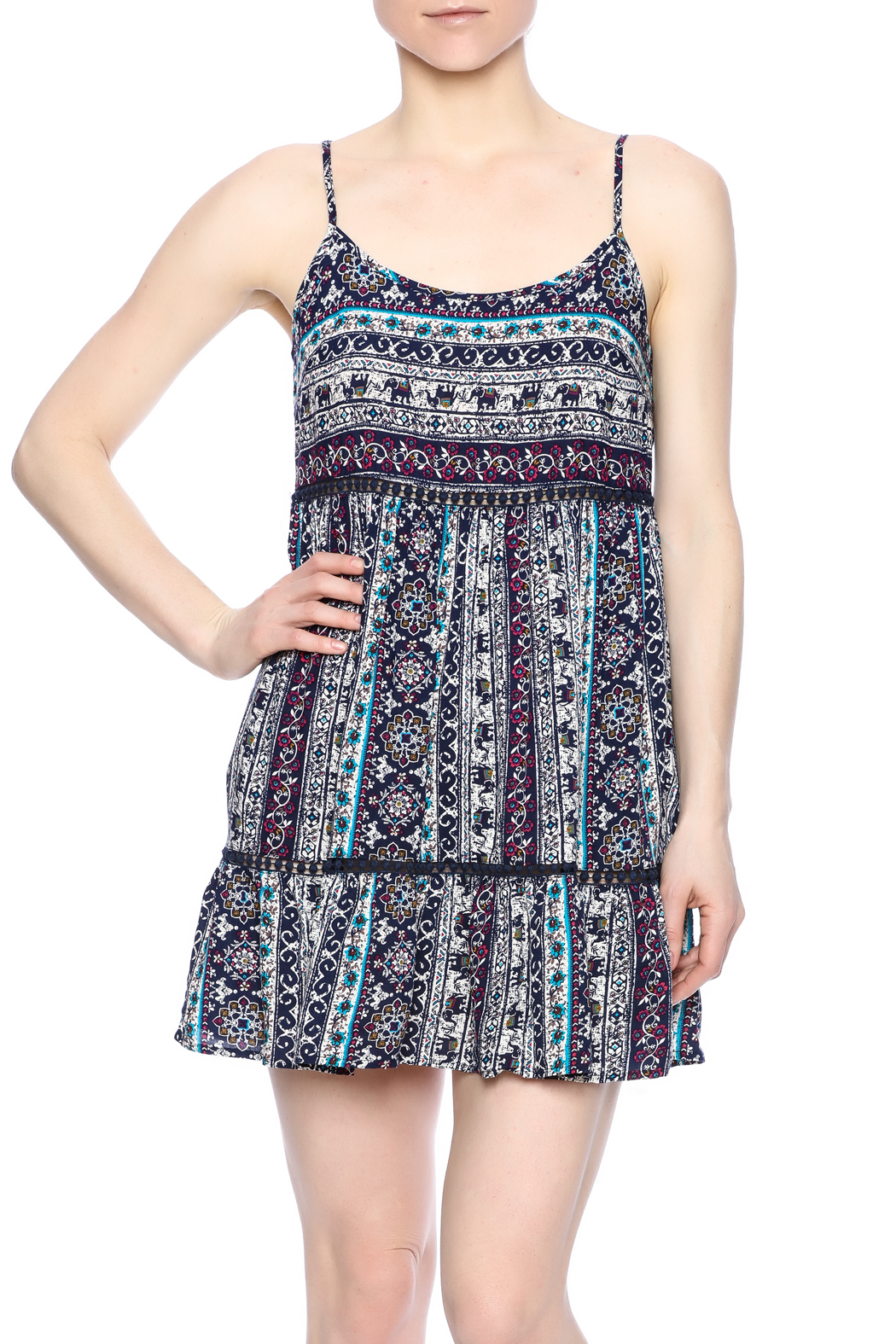 996c6afd2da En Cr me Elephant Sundress from Florida by Pretty Please Couture ...