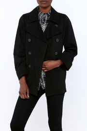 En Creme Black Peacoat - Product Mini Image