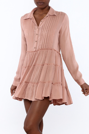 En Creme Dusty Rose Dress - Product Mini Image
