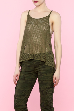 Shoptiques Product: Green Knitted Top