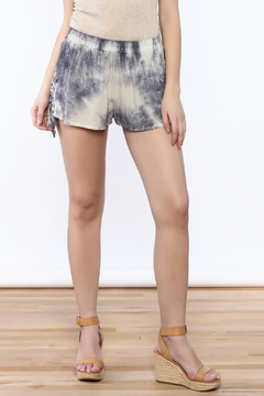 Shoptiques Product: Tiedye Elastic Shorts