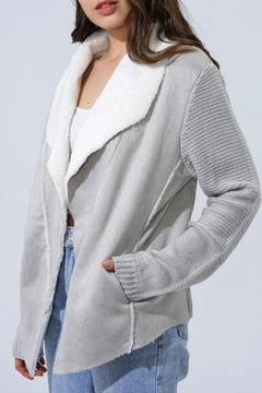 Shoptiques Product: Open Sherpa Cardie