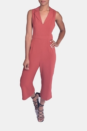En Creme Autumn Chic Jumpsuit - Front cropped