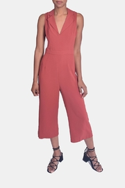 En Creme Autumn Chic Jumpsuit - Front full body
