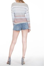En Creme Colorful Stripe Sweater - Other