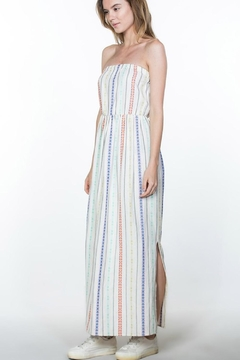 En Creme Cream Stripes Maxi - Alternate List Image