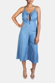 En Creme Denim Jumpsuit - Product Mini Image