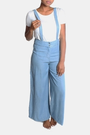 En Creme Denim Overall - Product Mini Image
