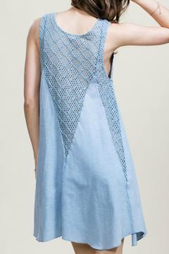 Shoptiques Product: Dusty Blue Dress