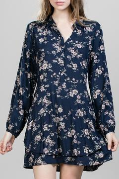 Shoptiques Product: Floral Button Up Dress