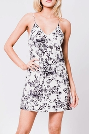 En Creme Floral Slip Dress - Product Mini Image
