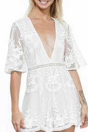 En Creme Lace Romper - Product Mini Image