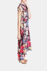 En Creme Floral Tie Sleeve Dress - Other