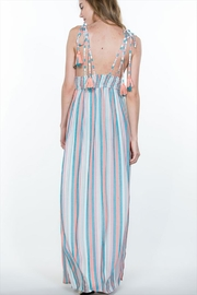 En Creme Multi Stripe Maxi - Front full body