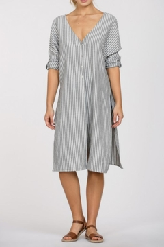 Shoptiques Product: Open Slit Shirtdress