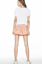 En Creme Lace Trim Shorts - Product Mini Image