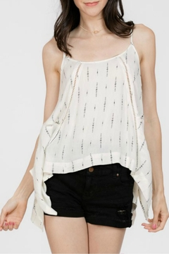 Shoptiques Product: Peek-a-Boo Tank