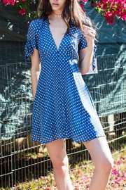 En Creme Polka-Dot Printed Dress - Product Mini Image