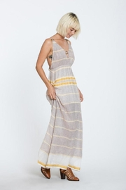 En Creme Print Maxi Dress - Product Mini Image