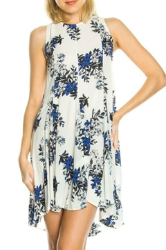 Shoptiques Product: Sleeveless Floral Tunic