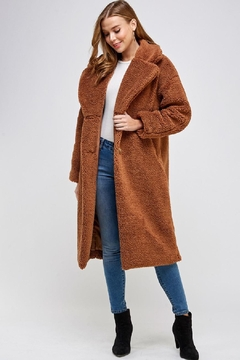 En Creme Soft Fauxfur Coat - Product List Image