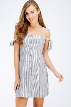 Shoptiques Product: Stripe Mini Dress
