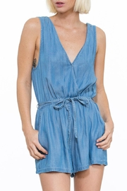 En Creme Tencel Romper - Product Mini Image