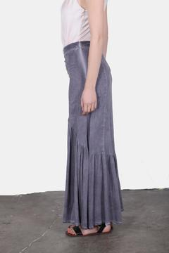 Shoptiques Product: Washed Blue Maxi Skirt