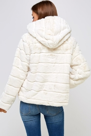 En Creme Winter White Jacket - Back cropped