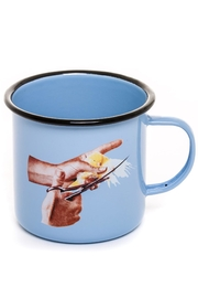 Seletti Enamel Mug Bird - Product Mini Image