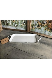Creative Co-Op Enameled Tray - Front cropped