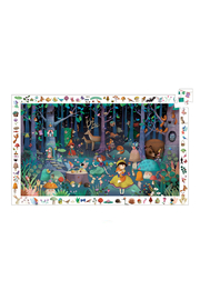 Djeco Enchanted Forest 100 Piece Observation Puzzle - Product Mini Image